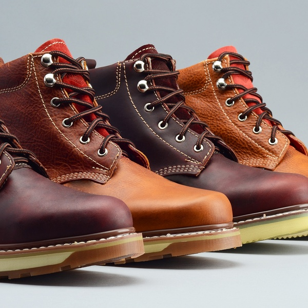classic leather work boots