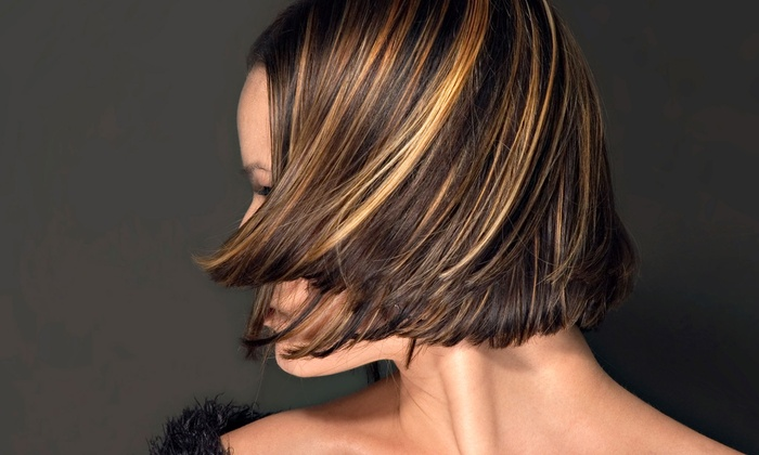 Grand Creation Salon - Pacific Beach: Haircut and Conditioning with Options for Partial or Full Highlights at Grand Creation Salon Up to 65% Off)