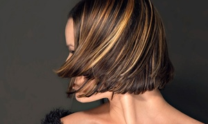 Grand Creation Salon: Haircut and Conditioning with Options for Partial or Full Highlights at Grand Creation Salon Up to 65% Off)