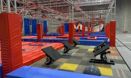 90Min Obstacle Course Entry: 1 $15, 2 $29, 3 $43 or 4 Ppl $58 at Ninja Playground and Fitness Up to $100 Val