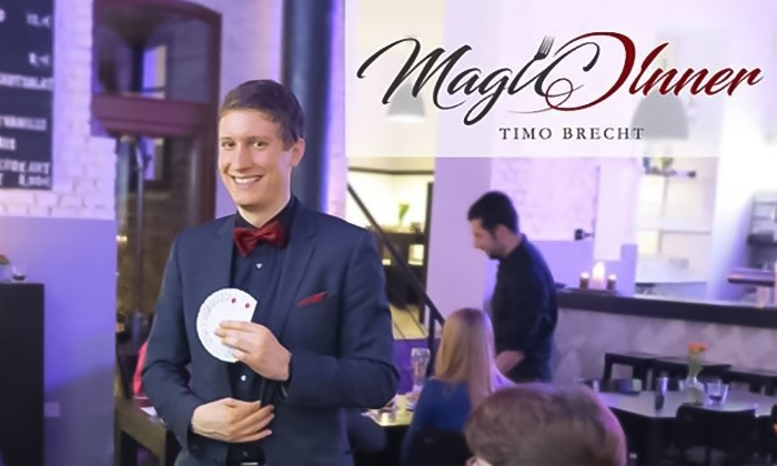Gut Hohenholz - Gut Hohenholz,: Magic Dinner Show mit 4-Gänge-Menü für 2 oder 4 Personen im Gut Hohenholz (bis zu 29% sparen*)