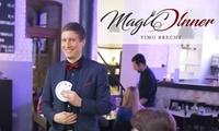 Magic Dinner Show mit 4-Gänge-Menü für 2 oder 4 Personen im Gut Hohenholz (bis zu 29% sparen*)