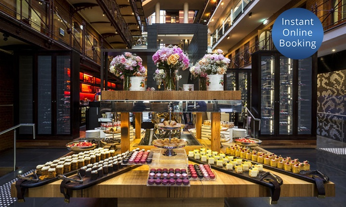 Alluvial Restaurant - Intercontinental Hotel Melbourne: $99 for High Tea with Sparkling Wine for 2 People at Alluvial Restaurant, InterContinental Melbourne (Up to $200 Value)