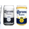 Corona Can- or Pilsner-Style Beer Glasses (4-Pack)