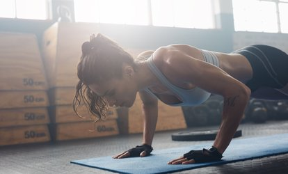 One-Month Personalised Nutrition and Fitness Program from Fitterclub (76% Off)