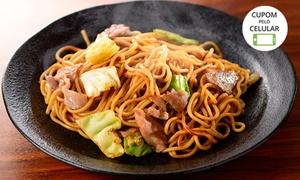 China Station Take Out: Box de yakissoba de frango, carne, lombo, imperial ou vegetariano na China Station – Setor Sudoeste