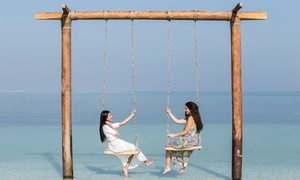 Dubai Ladies Club: Pool and Private Beach Pass (Leisure Center) or Private Cabana Rental for Up to 4 at Dubai Ladies Club (Up to 35% Off)*