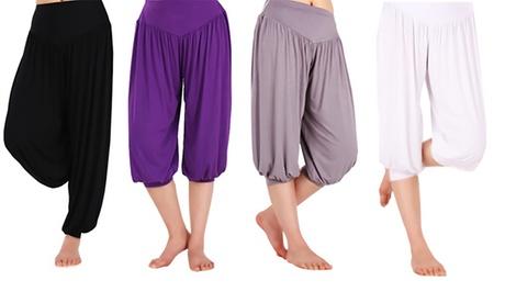 Pantalón de yoga para mujer por 11,99 € (66% de descuento) Oferta en Groupon