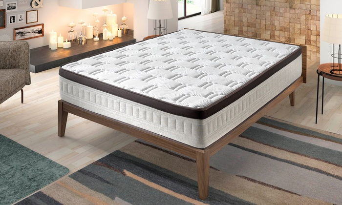 matelas m moire de forme 27 cm groupon. Black Bedroom Furniture Sets. Home Design Ideas
