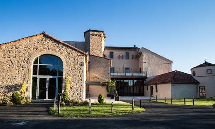 Saint Jean dAlcapiès : 2/7 nuits en gîte de Luxe pour 4, option panier dégustation au Castel dAlzac Gîtes au Château