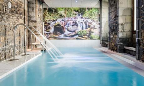 Orduña: 1 o 2 noches para 2 con spa, desayuno buffet y opción a masaje de 30' en Hotel Balneario Orduña Plaza 4*