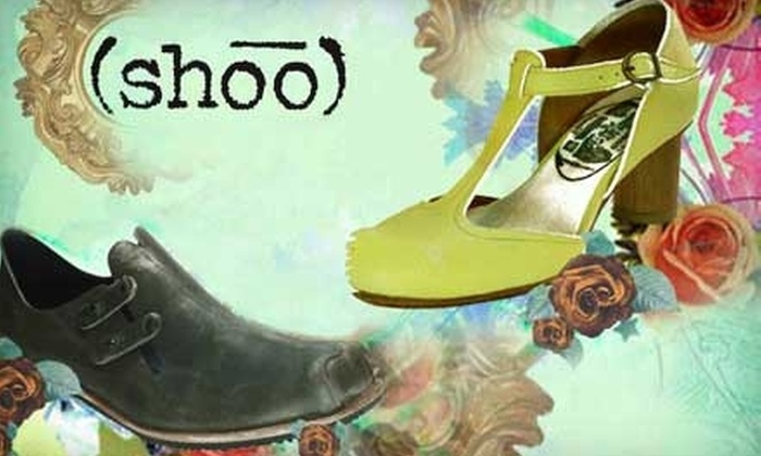 (shoo) - Multiple Locations: $45 for $100 Worth of Shoes and Accessories at (shoo)