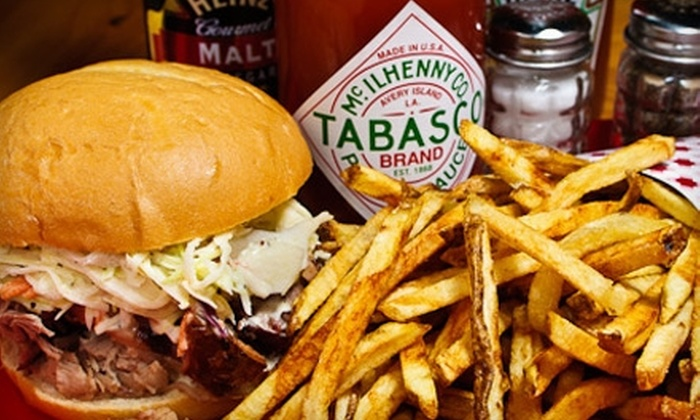 BBQ Post 401 - Fredericksburg: $7 for $14 Worth of Barbecue and Drinks or $25 for $50 Worth of Catering at BBQ Post 401 in Fredericksburg