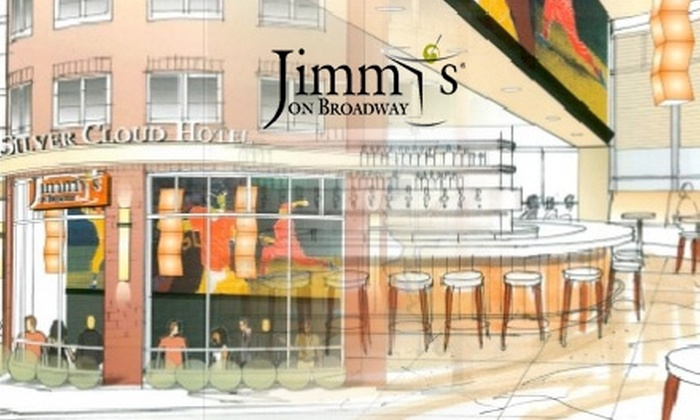 Jimmy's on Broadway - First Hill: $15 for $35 Worth of Pacific Northwest Fare and Drinks at Jimmy's on Broadway
