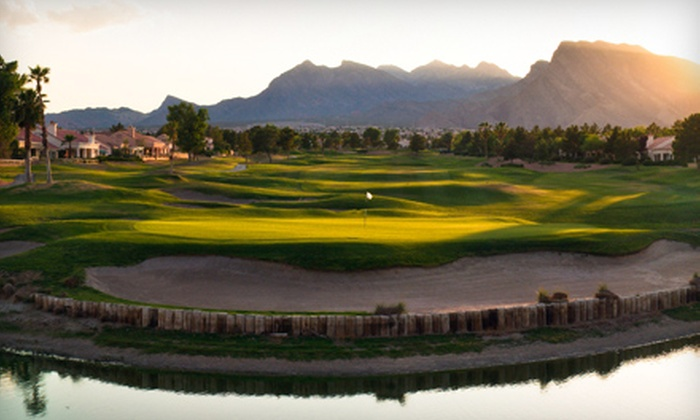 Palm Valley Golf Course - Sun City Summerlin: $34 for an 18-Hole Golf Outing with Cart Rental and Range Balls at Palm Valley Course (Up to $99 Value)