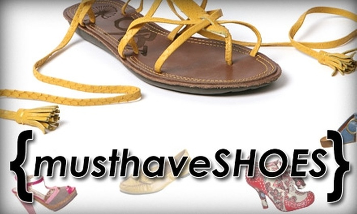 Musthaveshoes.com - Atlanta: $25 for $50 Worth of Footwear at MustHaveShoes.com