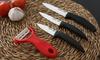 Set couteaux céramique 4 pièces