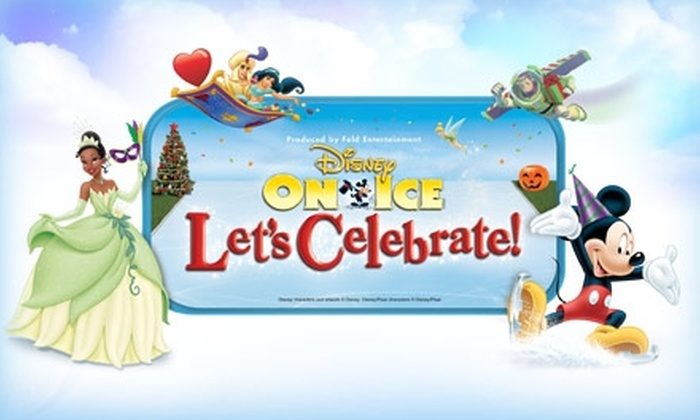 "Feld Entertainment - Des Plaines: $40 for VIP Ticket to Disney On Ice's ""Let's Celebrate!"" ($60 Value). Buy Here for 2/3/10 at 7 p.m. at the Allstate Arena. See Below for Additional Dates."