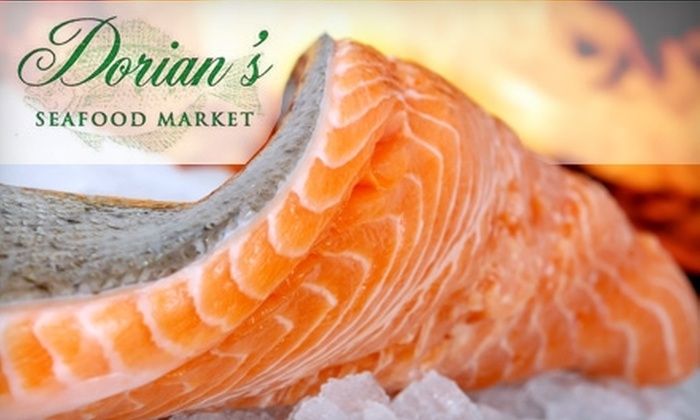Dorian's Seafood Market - Upper East Side: $10 for $20 Worth of Fresh Fish and Prepared Dishes at Dorian's Seafood Market