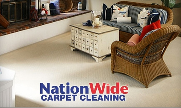 Nationwide Carpet & Duct Cleaning - Vancouver: $49 for Carpet Cleaning in Three Rooms Totaling Up to 750 Square Feet ($109 Value) or $64 for Area Rug Cleaning ($260 Value) from Nationwide Carpet & Duct Cleaning