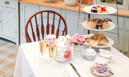 Traditional of Sparkling Afternoon Tea for Two or Four at The Grange Manor Hotel (50% Off)