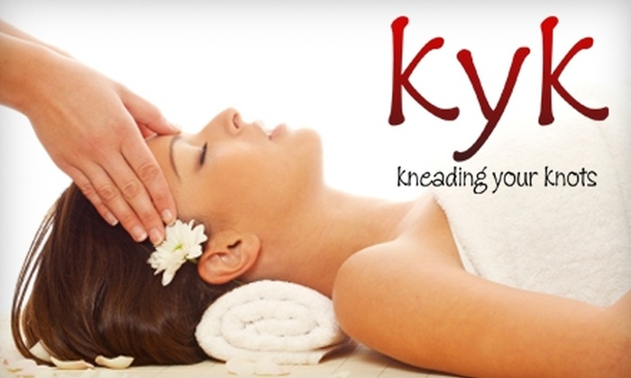 kneading your knots - Lodi: $30 for a One-Hour Massage at kneading your knots ($60 Value)