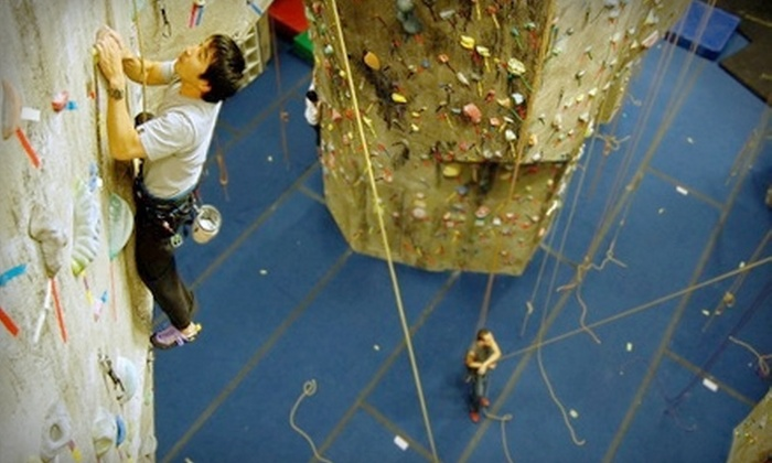 The Rock Club - New Rochelle: $49 for an Intro Rock-Climbing Course, Plus One Month of Gear Rental and Unlimited Climbing, at The Rock Club ($255 Value)