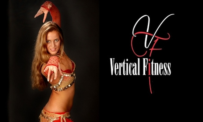 Vertical Fitness - Lakeview: $40 for Five Group Belly-Dancing Classes at Vertical Fitness (Up to $100 Value)