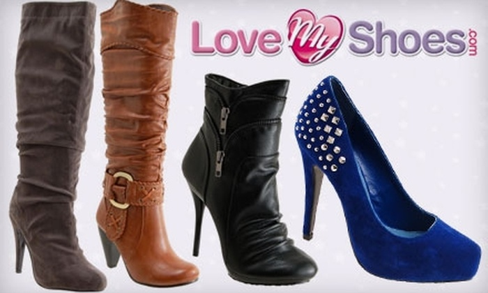 Love My Shoes - Multiple Locations: $15 for $30 Worth of Shoes, Handbags, and Jewelry at Love My Shoes