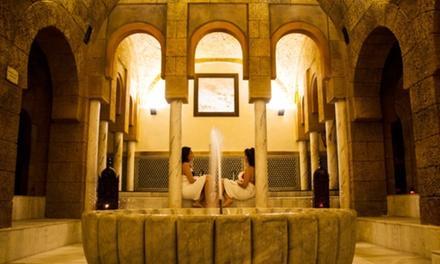 Circuito de baños árabes y tratamientos a elegir para 2 personas desde 29,95 € en Hammam Ilunion Tartessus Sancti Petri