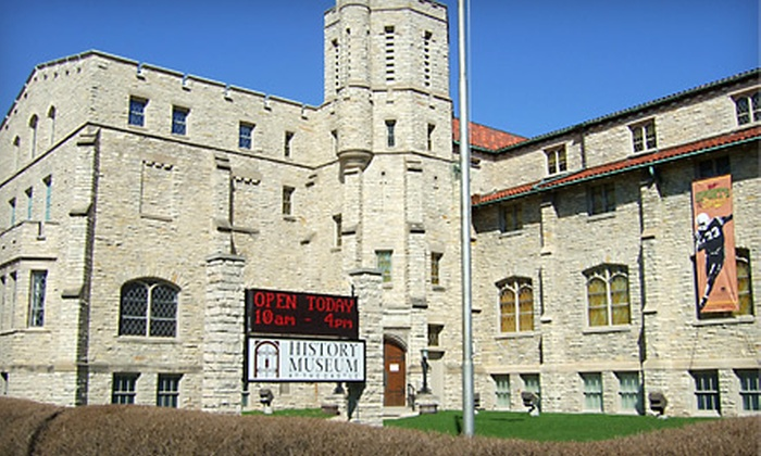 The History Museum at the Castle - Downtown Appleton: $7 for Two Tickets to The History Museum at the Castle (Up to $15 Value)
