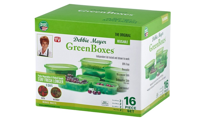 ... or Debbie Meyer Green Boxes and Bags Storage Set (16- 32- ...  sc 1 st  Groupon & Debbie Meyer Green Boxes and Bags Storage Set (16- 32- or 74-Piece ...