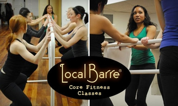 Local Barre - Hoboken: Barre Fitness Classes at Local Barre. Choose from Two Options.