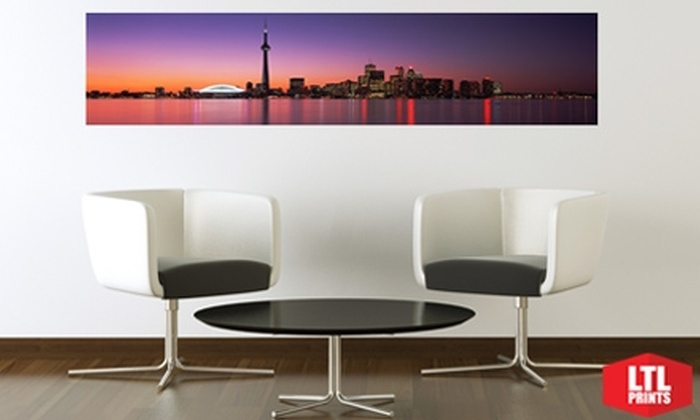 """Larger Than Life Prints: $35 for a """"Big Wall Graphic"""" Panoramic Wall Mural from LTL Prints ($86 Value)"""