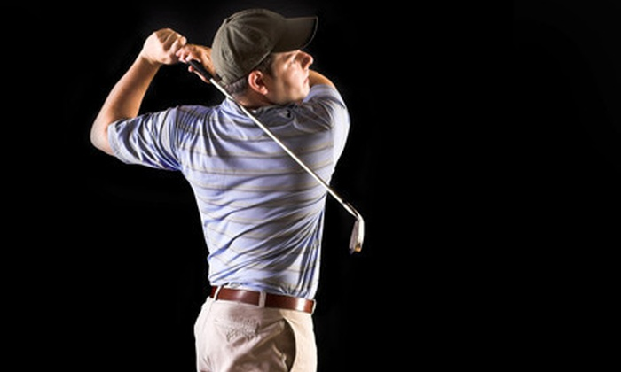 Golf Center at The Club of Riverdale - Spuyten Duyvil: One or Two Hours of Simulator Play for Up to Four, or Club or Swing Services at The Golf Center at the Club of Riverdale (Up to 64% Off)
