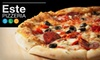 Este Pizzeria - Multiple Locations: $20 Worth of Pizza and More at Este Pizzeria
