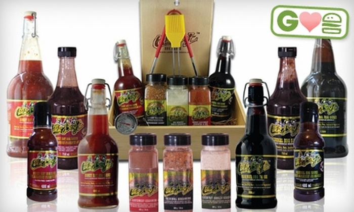Cattle Boyz: $17 for Barbecue Sauce and Seasoning Package at Cattle Boyz ($35.67 Value)