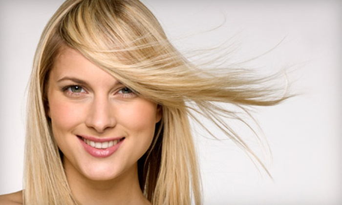 Salon Hether's - Olde Town Arvada Area: Hair-Styling Package at Salon Hether's (Up to 57% Off). Two Options Available.