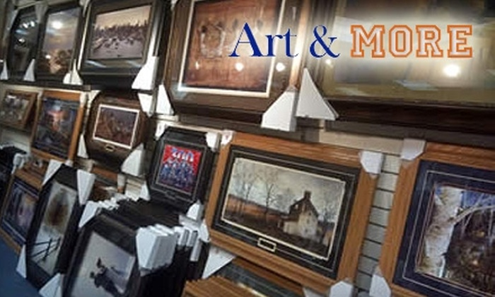 Art & More - Davenport: $10 for $20 Worth of Sports-Themed Wall Décor from Art & More