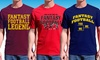 Men's Fantasy Football Tees: Men's Fantasy Football Tees