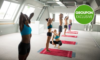 1 Month of Achel Bikram Hot Yoga or Inferno Hot Pilates: 1 ($39), 2 ($75) or 4 ppl ($145), 2 Locations