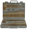Pro-Series Titanium-Coated Drill Bit Set (115-Piece)