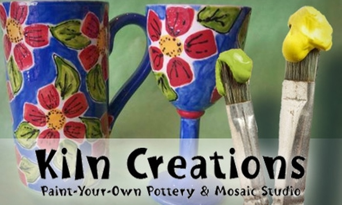 Kiln Creations - Noblesville: $15 for $35 Worth of Pottery Painting, Mosaic Projects, Classes, and More at Kiln Creations