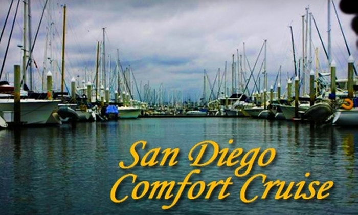 San Diego Comfort Cruise - Multiple Locations: $79 for a 2.5-Hour Skippered Harbor Cruise for Two from San Diego Comfort Cruise
