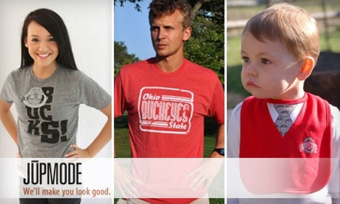JUPMODE: $25 for $50 Worth of Ohio State Tees and More at JUPMODE