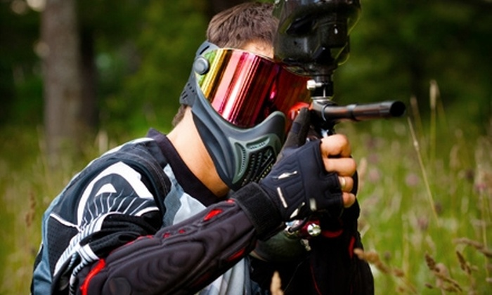 Dimension Paintball - New Waterford: $15 for an All-Day Paintball Package at Dimension Paintball ($30 Value)
