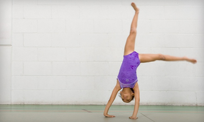 Kids in Motion - St. Johns: One Month of Children's Gymnastics Classes at Kids in Motion in Washington (Up to 76% Off). Three Options Available.