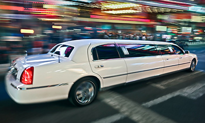First Class Sedan - Downtown Hayward: Four- or Six-Hour Limo Rental for Up to 10 People from First Class Sedan