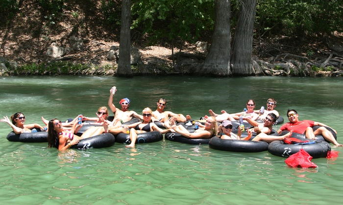 Rockin' R River Rides  - Multiple Locations: $20 for Tube Rentals for Two at Rockin' R River Rides in New Braunfels ($36 Value)