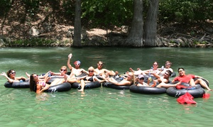 Rockin' R River Rides : $20 for Tube Rentals for Two at Rockin' R River Rides in New Braunfels ($36 Value)